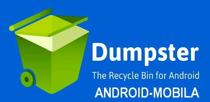 Dumpster – корзина на android. Восстановить файлы после удаления.