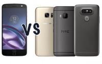 Большой обзор-сравнение Moto Z, Galaxy S7, LG G5 и HTC 10