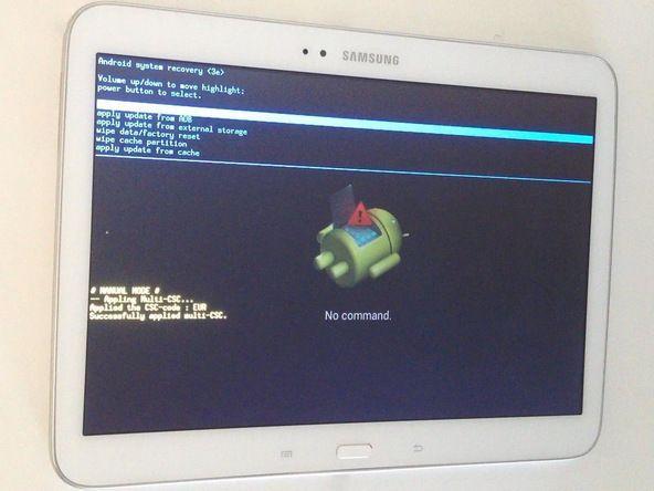 Как на планшете самсунг сделать ресет 512