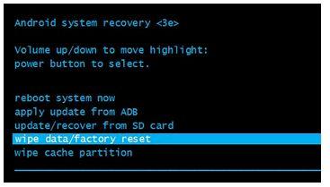 Sony Xperia E5 F3311 сброс настроек: хард ресет