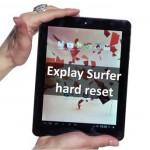 Как сделать hard reset explay