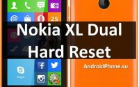Nokia XL Dual Hard Reset: сбросить настройки и снять графический ключ