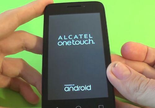 Как сделать сброс настроек на alcatel pixi 4 537