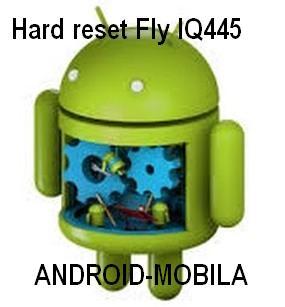 Как снять графическую блокировку на смартфоне Fly IQ445.