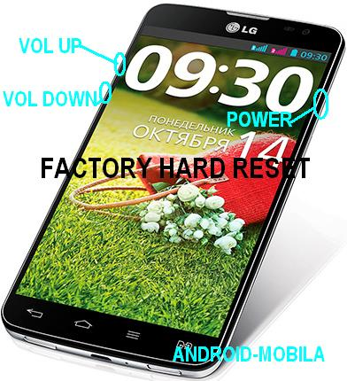 FACTORY HARD RESET;