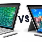 Microsoft Surface Book и Surface Pro 4: основные различия
