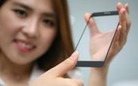 LG представила технологию сканера отпечатков пальцев под стеклом