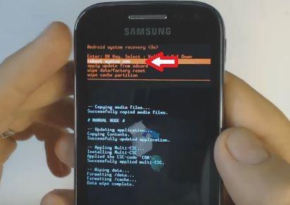 Как сбросить телефон samsung galaxy ace 5830 мобильный телефон samsung c5212 duos отзывы