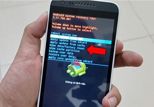 HTC Hard reset, сброс заводских настроек (графического ключа)