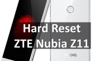 Hard Reset на ZTE Nubia Z11: как сбросить настройки
