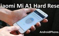 Xiaomi Mi A1 hard reset и сброс настроек - Два способа